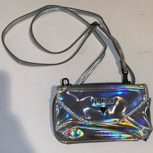Guess holo bag